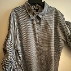 a.n.a. beautiful fancy blouse